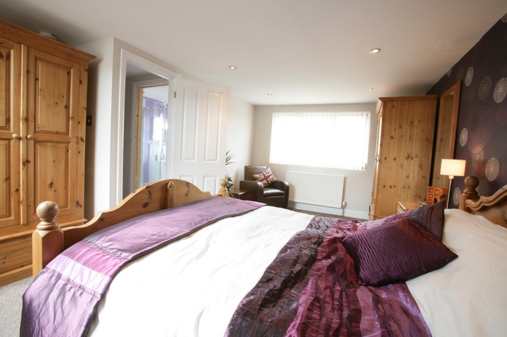 Purple and lilac shades are great for the bedroom - not too dark and not too light - hitting just the right note.
