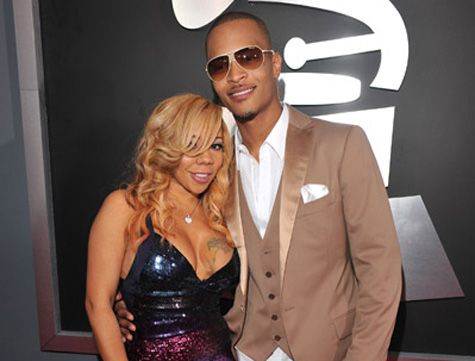 "T.I. and his wife, Tameka ""Tiny"" Cottle"