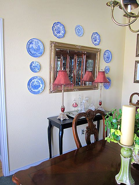 DIY Faux Wainscoting in the Dining Room - At The Picket Fence