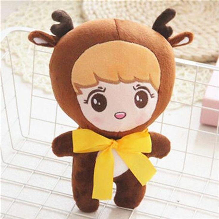 KPOP EXO XOXO Planet#2 Plush Toy Chocolate Deer