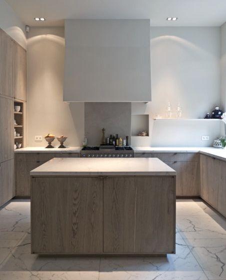 limed+oak+kitchen+cabinets+-+minimalist+limed+oak+kitchen+cabinets+by+AIDArchitecten+via+atticmag