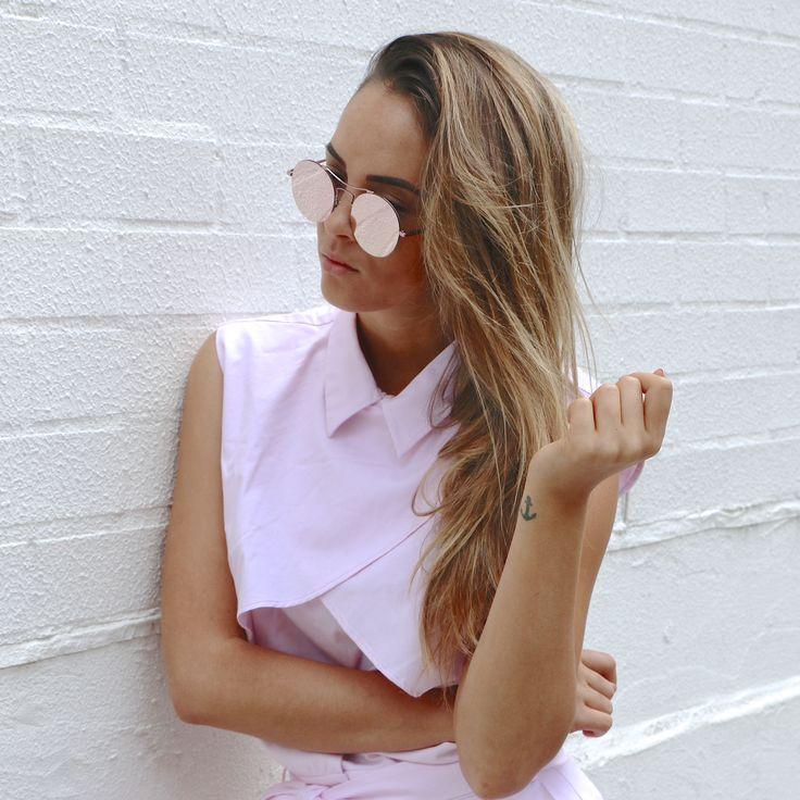 ISLA - Ice pink  @shevoke @aisha_jade #sunnies #shevoke #mirror #reflector #sunnies #sunglasses #sunglass #popular