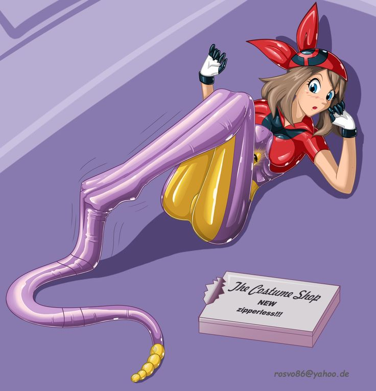 May and the Ekans suit by Rosvo.deviantart.com on @DeviantArt