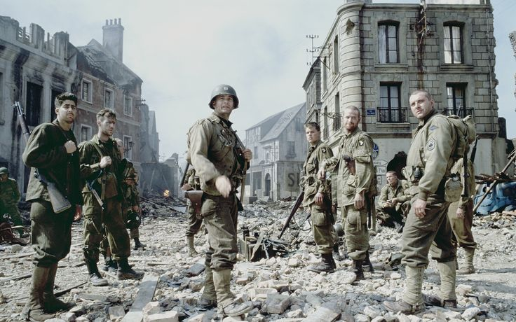 """""""Keep the sand out of your weapons. Keep those actions clear. And I'll see you on the beach."""" - Saving Private Ryan"""