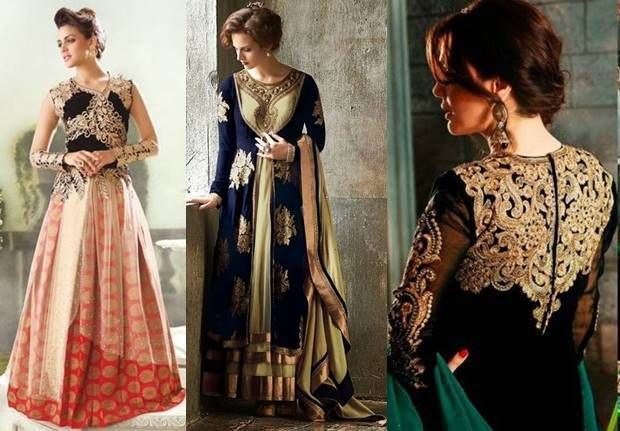 Latest Party Wear Frocks Collection 2016