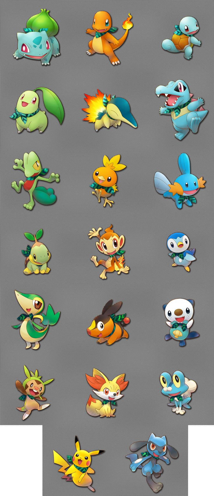 Pokémon Super Mystery Dungeon Starter Pokemon