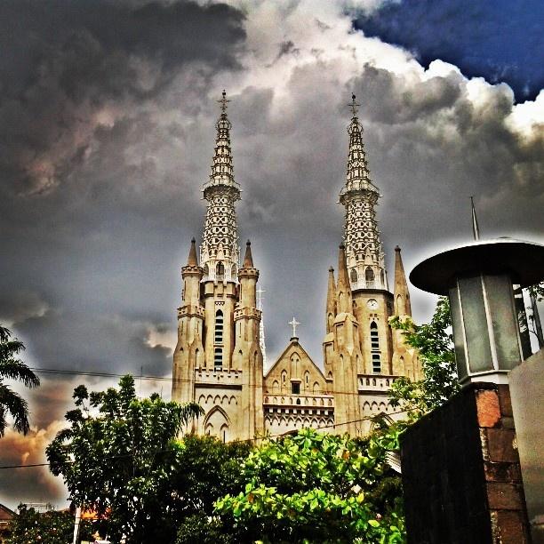 Gereja Katedral - @indahpoenya- #webstagram #instagram