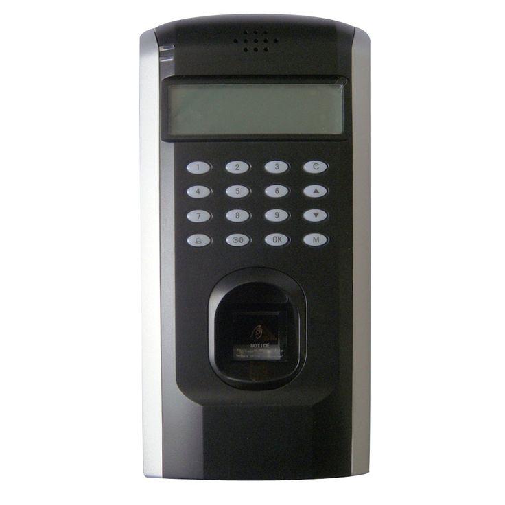 Biometric Fingerprint Time Clock Attendance System Recorder and Door Access Control