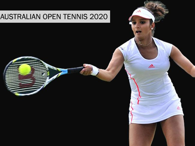 Australian Open Tennis 2020 Sania Mirza Moved Out Of Mixed Doubles Due To Calf Injury Em 2020