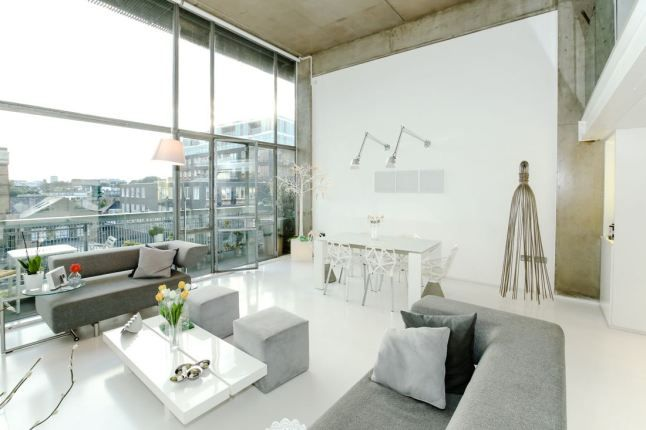 En Londres Apartamento minimalista lleno de luz