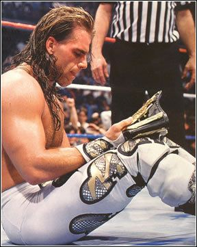 Shawn Michaels. I've never been so attracted to an older guy in my entire life!