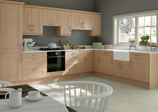 Best Arlington Beech Kitchen Doors Beech Kitchen Cabinets 400 x 300