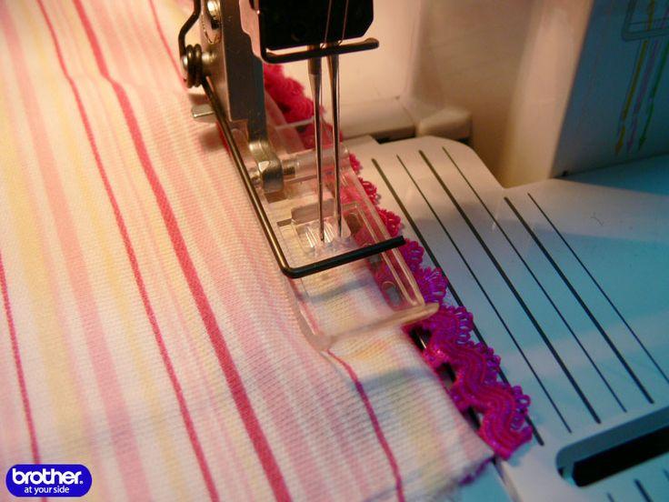 Как шить на оверлоке: Летний костюм для девочки