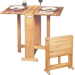 Awesome fold away table. Perfect for tiny kitchen.