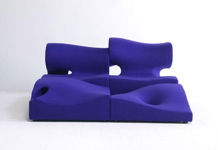 modular unique sofa Composizione Misfits
