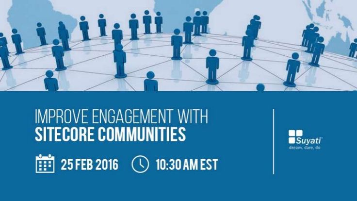 Building a community in today's competitive marketplace helps you maximize your opportunities and enables you to connect, engage and extend relations with your users. Join our webinar to learn how you can leverage on community building in Sitecore.