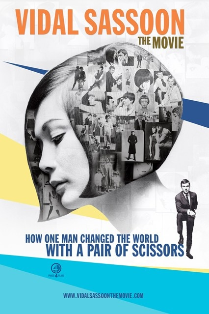 2010 promotional poster for Vidal sassoon: The movie
