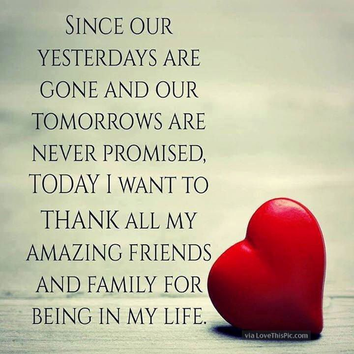 Thank You To All My Friends And Family Pictures, Photos