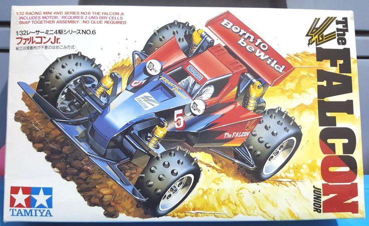 The+Falcon+Junior+Tamiya+Mini+Racing+4+W/D+Scale+1:32+1987+Made+In+Japan