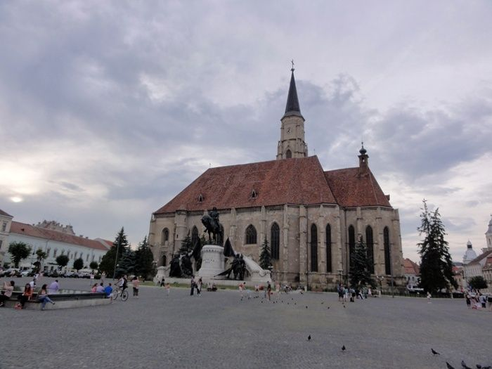 Cluj- Napoca Piata Unirii