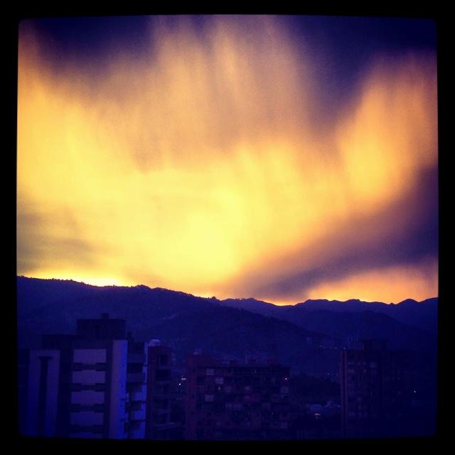 Sunset @ Medellin