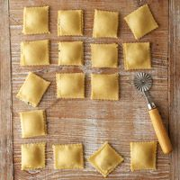 Fresh Pasta Dough for Ravioli this is an easy recipe..Love homemade ravioli..:)..you will never open another can again when you make your own :)