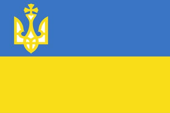 Первый официальный флаг УНР — военно-морской с 14.01.1918 по 18.07.1918 #УНР #history #Ukraine #история #Украина