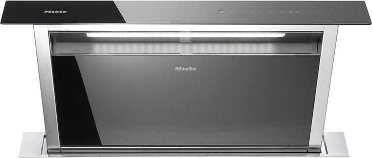 Miele DA 6890 Downdraft-Dunstabzugshaube mit dimmbarer LED-Beleuchtung und Touchbedienung für komfortable Bedienung. Familiendesign - abgestimmt auf Einbaugerätegeneration 6000 Leistungsstark - 710 m³/h in der Intensivstufe Praktisch - 15 Minuten automatische Nachlaufzeit Für jede Wohnsituation passend - abluft- und umluftfähig Für bestmögliche Funktion - lüftungstechnisches Zubehör