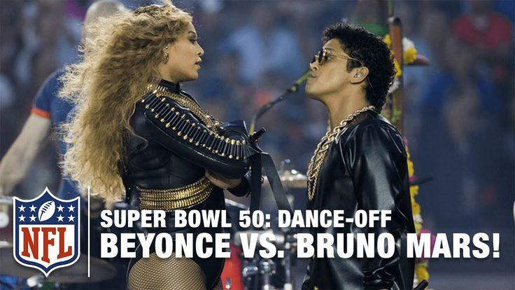 Beyoncé & Bruno Mars Crash Super Bowl 50 Halftime Show | NFL