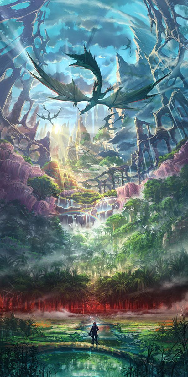 World Concept from Ys VIII: Lacrimosa of Dana