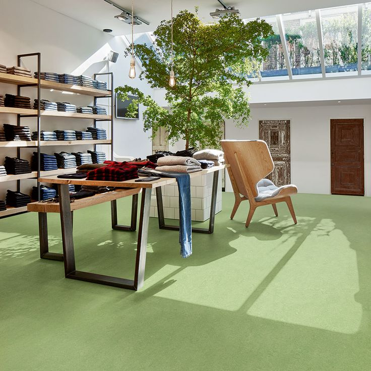 Marmoleum Real linoleum flooring Forbo Flooring Systems