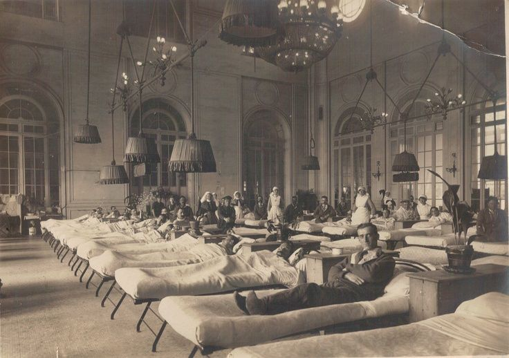 first world war base hospital - Google Search> reminds me of when the turned Downton into a hospital