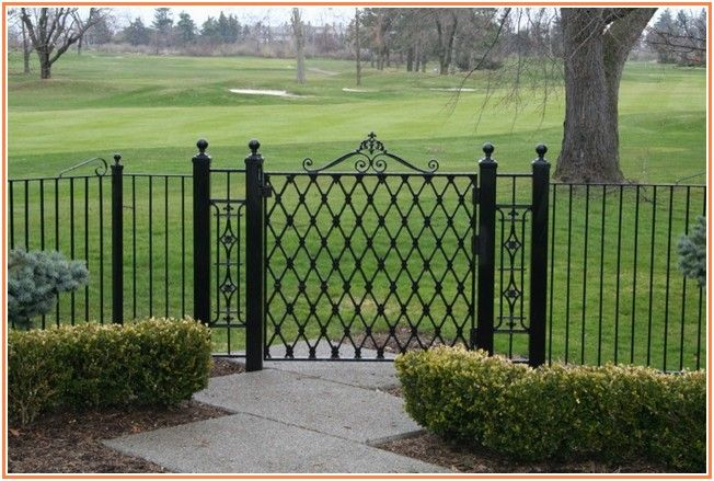 Exotic Wrought Iron Fence Cost Per Foot