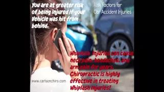 South Austin Car Accident Chiropractor tells how untreated car accident whiplash Injuries leads to years of neck pain, headaches, shoulder pain, and arm pain.  Got pain? Get treated call 512-447-9093 or learn more at http://www.carlsonchiro.com  #AustinCarAccidentChiropractor #AustinWhiplashTreatment #AustinNeckPain #AustinHeadacheRelief #AustinHeadache #AustinHerniatedDisc #AustinSpinalDecompression #AustinArmPain #AustinShoulderPain