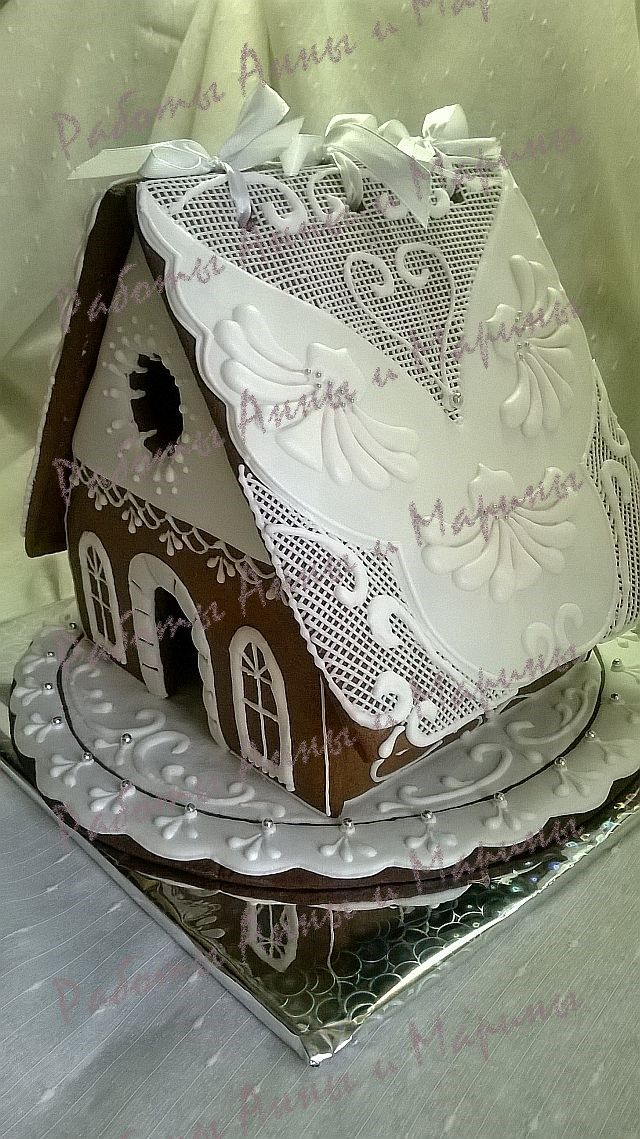 Gingerbread wedding house. mak11.livemaster.ru