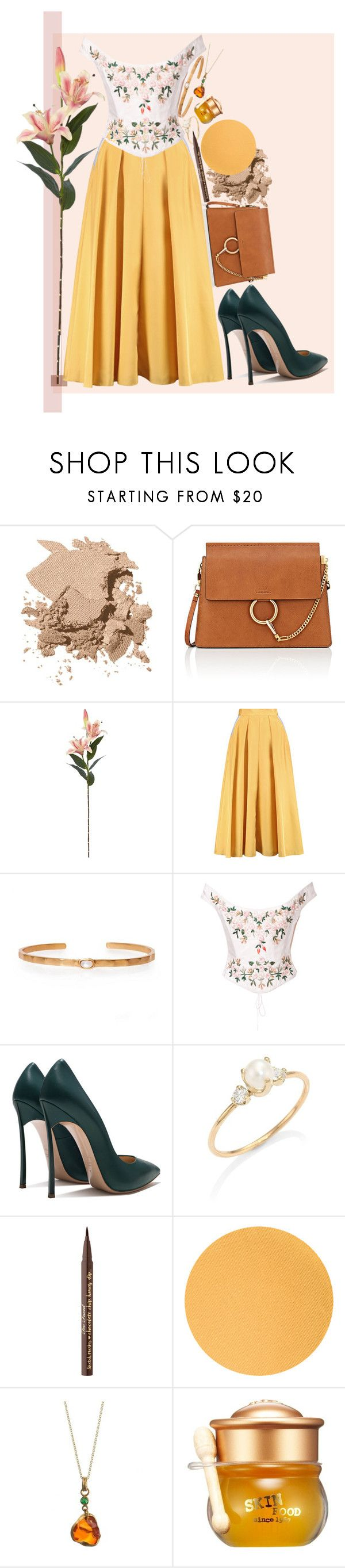 """""""Page Idea 19"""" by muse-of-the-muses on Polyvore featuring Bobbi Brown Cosmetics, Chloé, Roksanda, Christina Greene, Eavis & Brown, Zoë Chicco, Too Faced Cosmetics and Skinfood"""