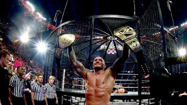 Elimination Chamber 2014: WWE World Heavyweight Championship Elimination Chamber Match