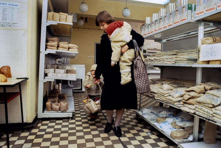 .Food shop 1982, Poland  Chris Niedenthal.