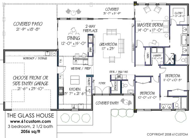 Contemporary House Design Floor Plan – House Design Ideas