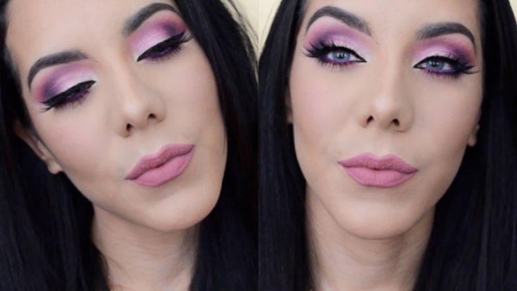 Maquillaje MONOCROMÁTICO en Tonos Rosas