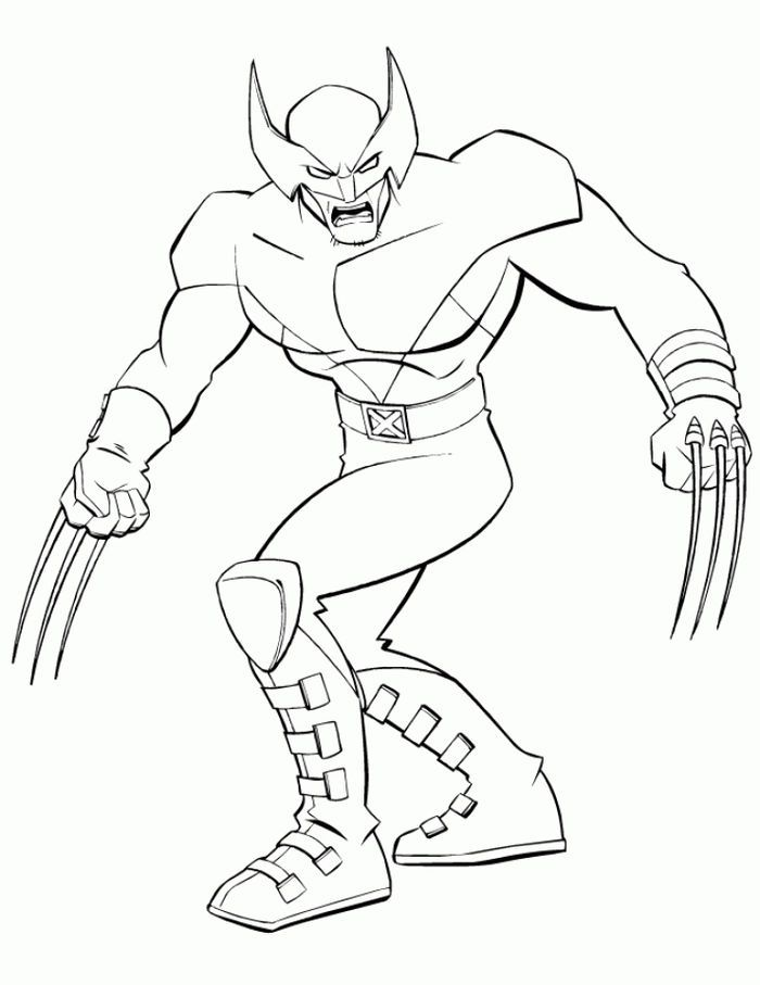 Wolverine Coloring Pages To Print In 2020 Avengers Coloring Pages Superhero Coloring Superhero Coloring Pages