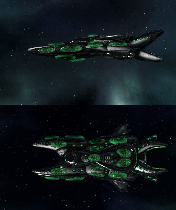 Stellaris Fungoid Ships In 2019 Space Ships Pinterest Ship