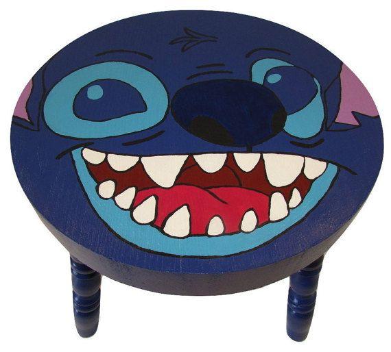 Stitch Lilo and Stitch Series Character Step Stool by Tinaya