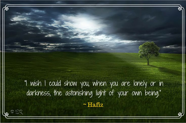 Motivational quote by Hafiz