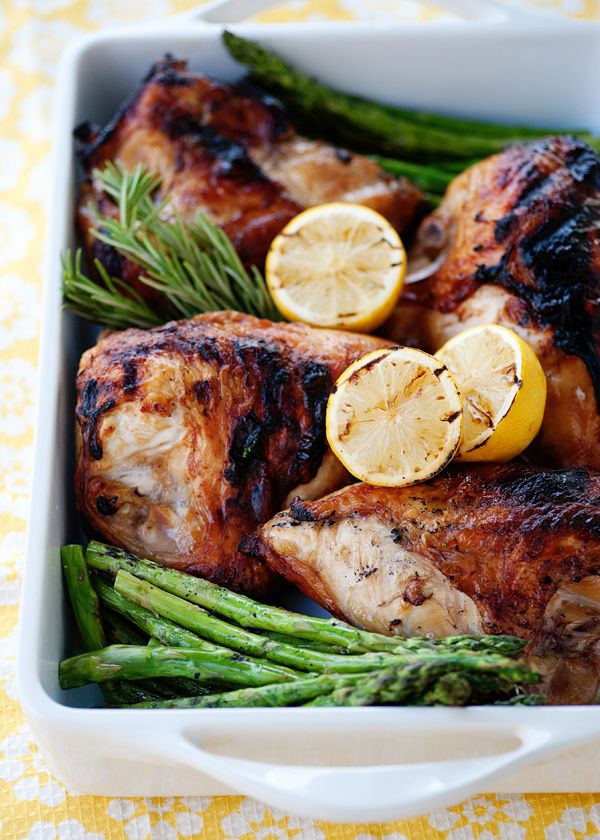 Sweet Tea Chicken! I would hold back on the salt a little bit & turn the brine into a reduction - but I would LOVE to try this!!