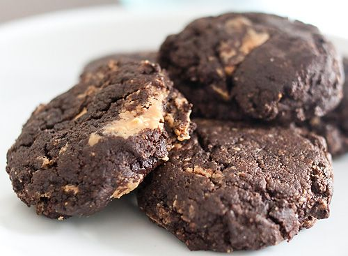 Candice's Low Carb Chocolate Chunk Peanut Butter Swirl Cookies