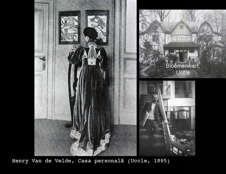 Henry Van de Velde. Casa personala - Uccle 1895