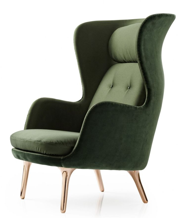 Ro Chair by Jaime Hayon - great contemporary look for a classic wing back chair