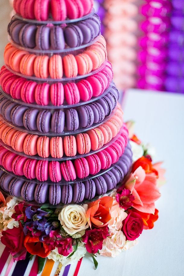incredible macaron tower by @Andrea / FICTILIS / FICTILIS / FICTILIS / FICTILIS Snoddon de Sucre