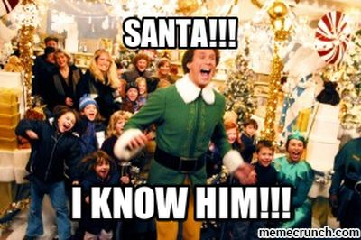 Laugh your way through the holidays with an Elf meme!